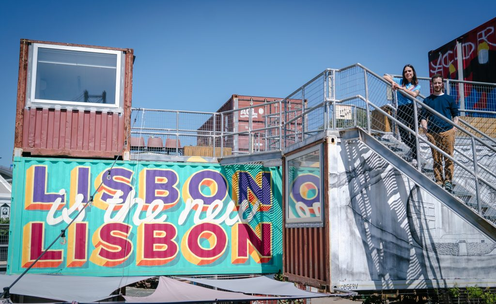 Halfstudio and Lisbon is the New Lisbon on Village Underground Lisboa