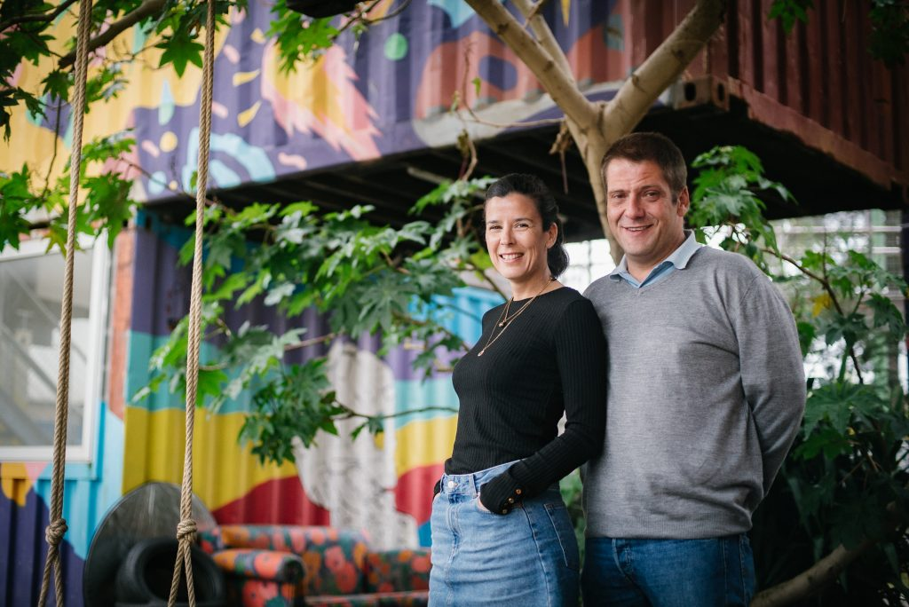 Mariana e Gustavo, the owners of Village Underground Lisboa on Village Underground