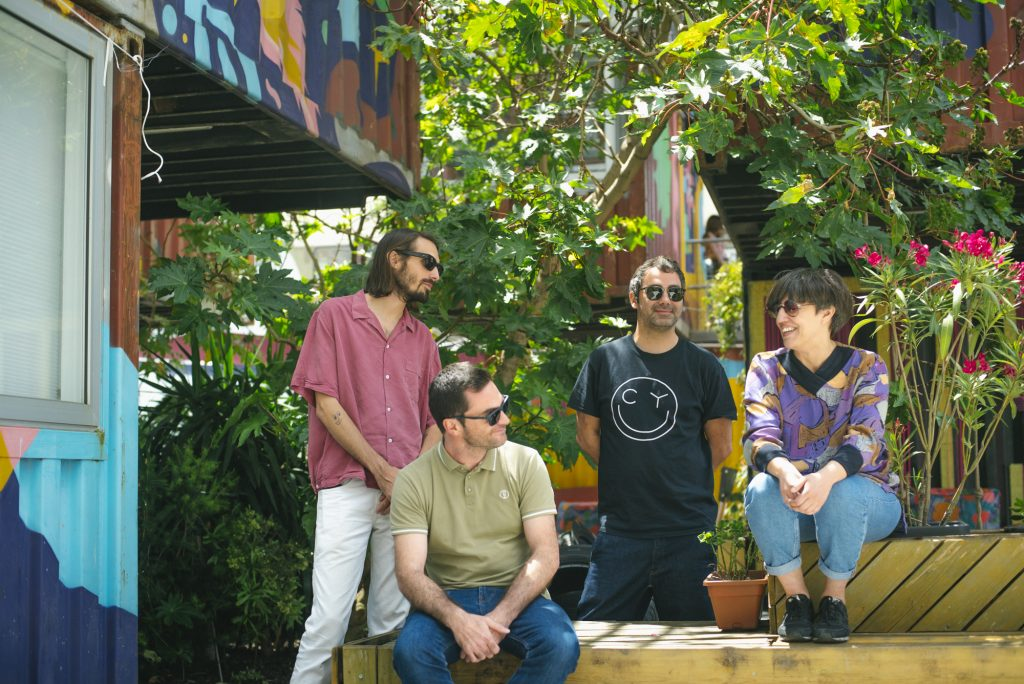 Nicolai Sarbib, Marco Guerra, Nuno Patrício and Sofia Mestre at Village Underground Lisboa